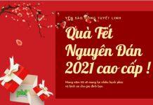 Quà tặng Tết 2021 cao cấp từ yến sào
