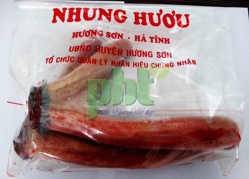 tác dụng nhung hươu với nam giới, nhung hươu Hương Sơn,nhung hươu